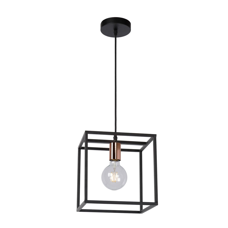 Lucide - arthur hanglamp 1 - zwart