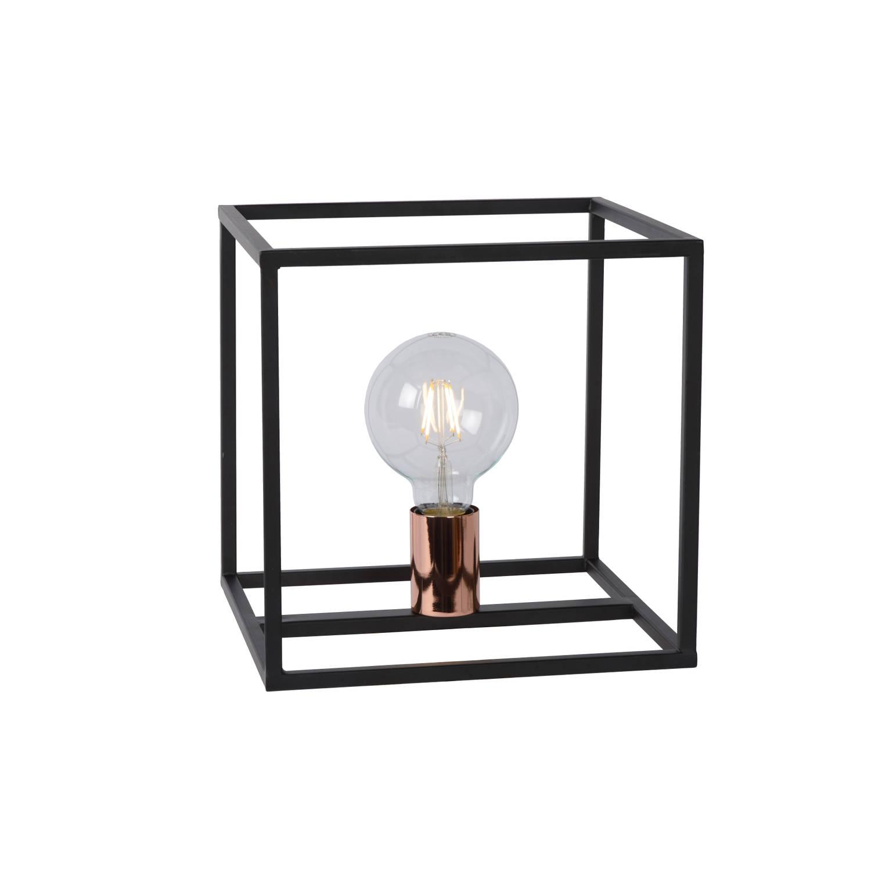 Lucide - arthur tafellamp - zwart