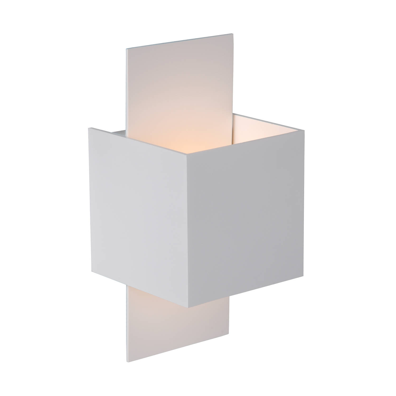 Lucide - cubo wandlamp - wit