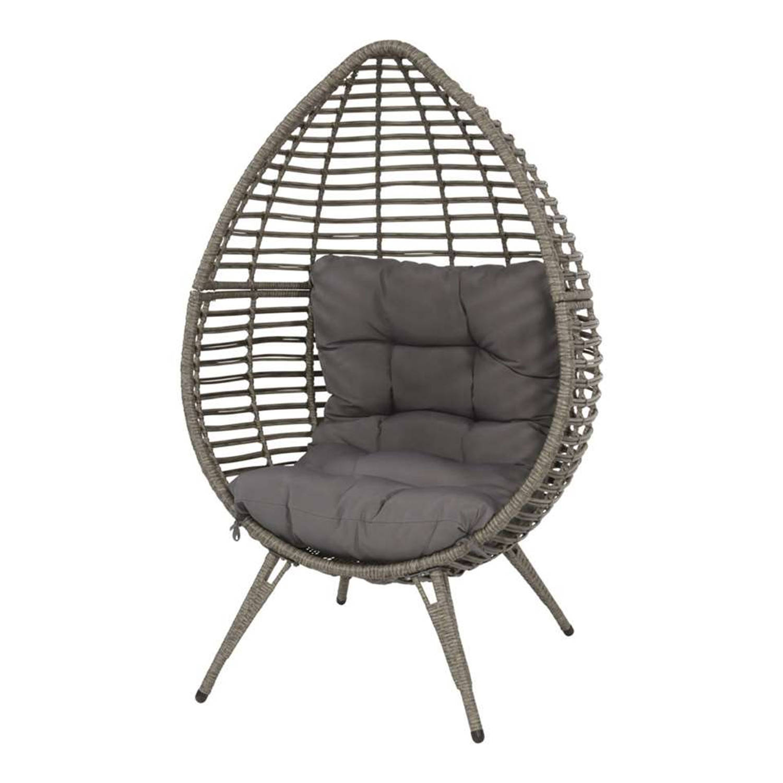 Relaxstoel Chill - grijs - 156x91x99 cm