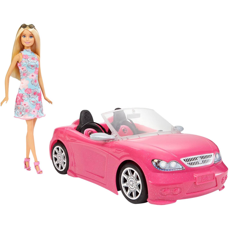 Barbie Cabriolet met Barbiepop