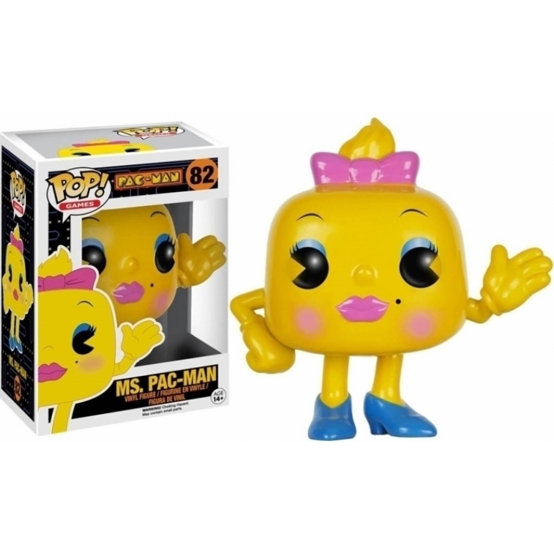 Pop Pac man Pop Vinyl Figure Ms Pac man