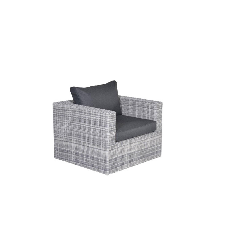 garden impressions zaragoza lounge fauteuil cloudy grey blokker. Black Bedroom Furniture Sets. Home Design Ideas