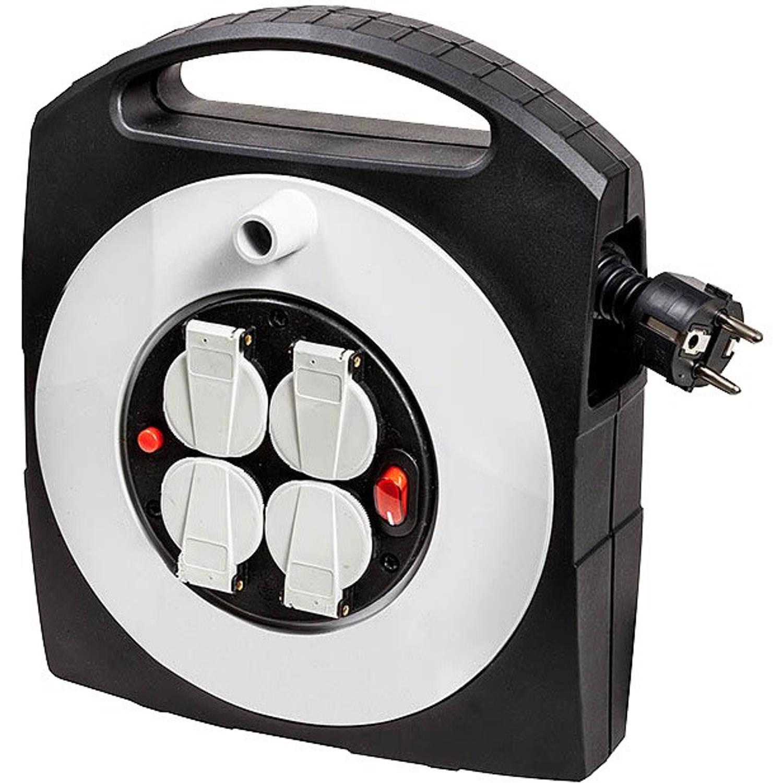 Primera-Line Kabelbox-S 4-voudig met schakelaar