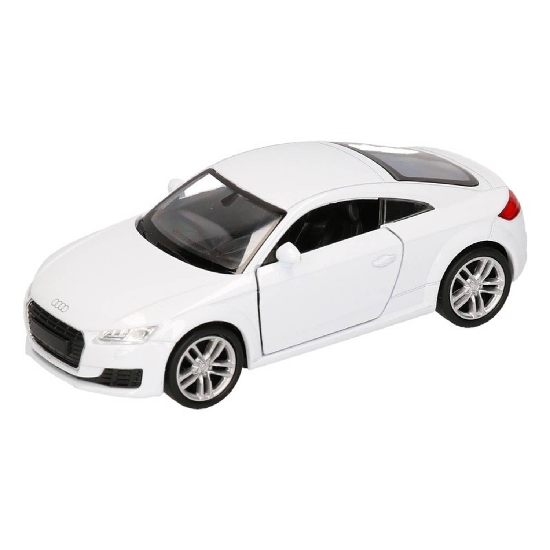 Afbeelding van Speelgoed witte Audi TT 2014 Coupe auto 12 cm