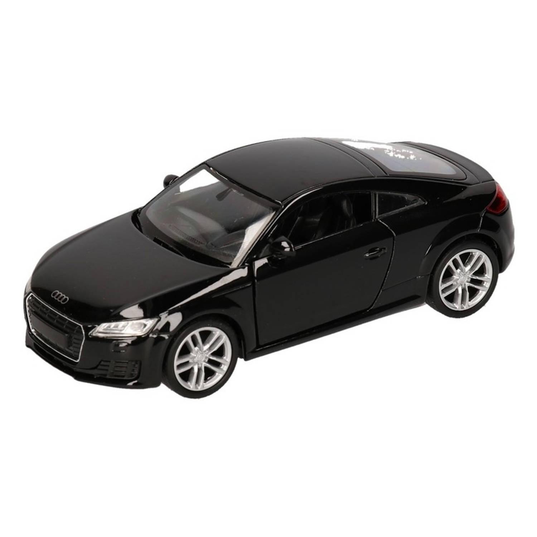 Afbeelding van Speelgoed zwarte Audi TT 2014 Coupe auto 12 cm