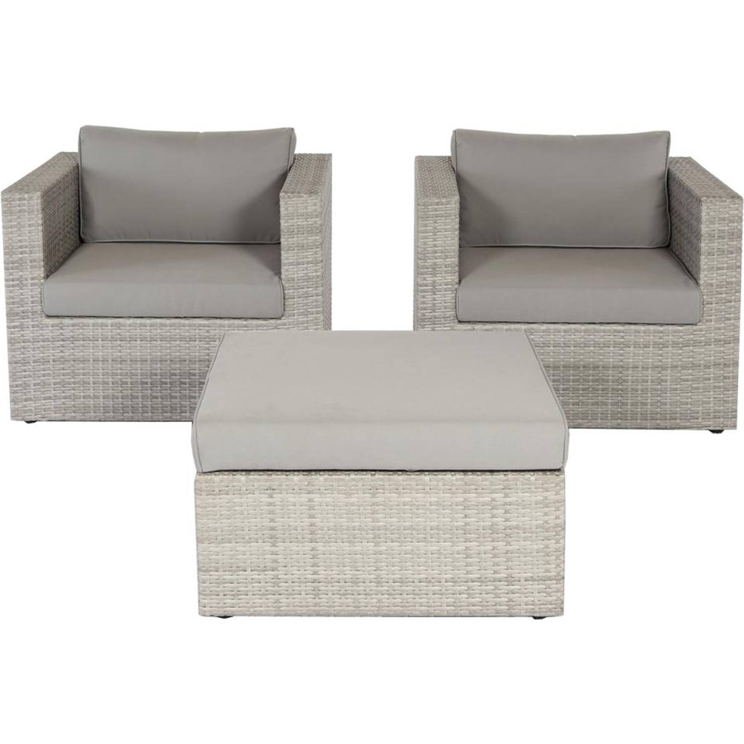 Royal Patio loungeset Bilbao 3-delig stoel