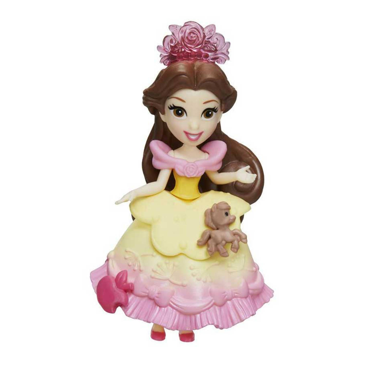 Disney Princess Little Kingdom pop met accessoires Belle - geel