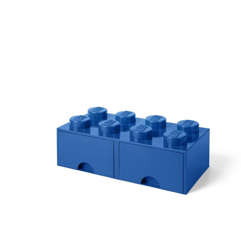LEGO 4004 Storage Brick Opberglade 2x4 Blauw