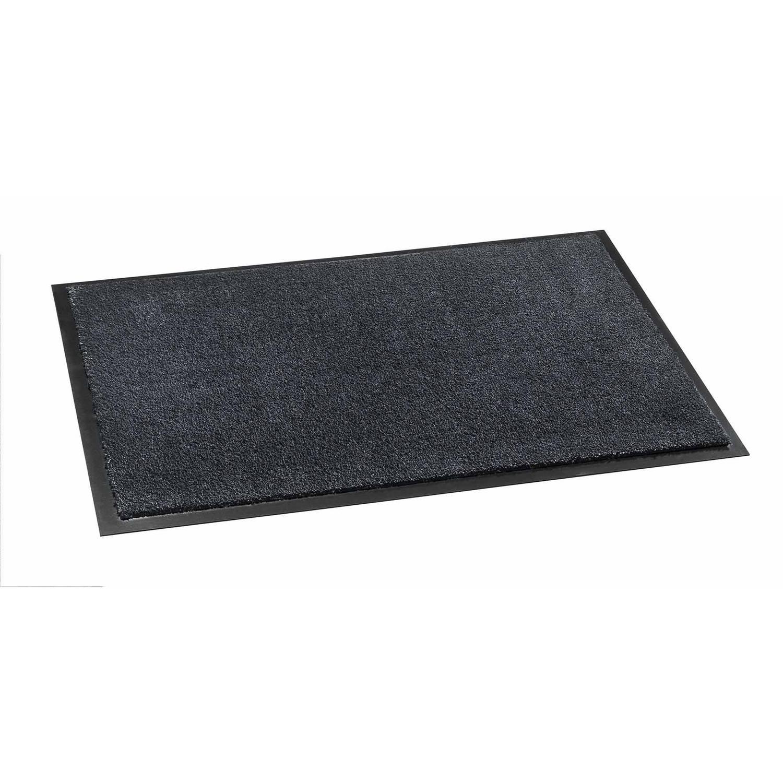 Schoonloopmat Soft&Clean antraciet 50x75 cm
