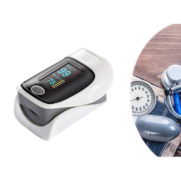 Oximeter - Hartslagmeter - Saturatiemeter - Oximeter Pulse Grijs