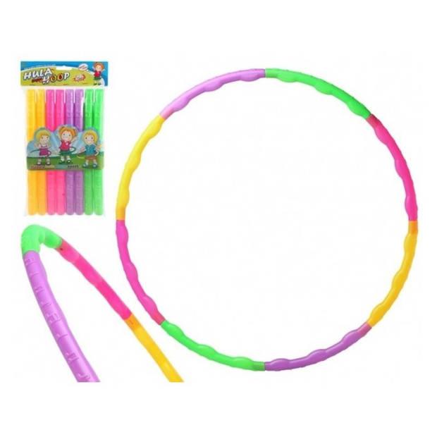 Speelgoed hoelahoep gekleurd voor kinderen