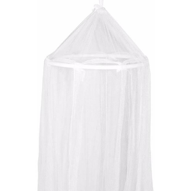 Eenpersoons klamboe wit 230 cm