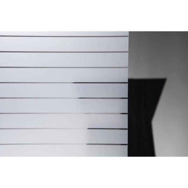 Stafix raamfolie stripes - 67,5 cm x 1,5 m