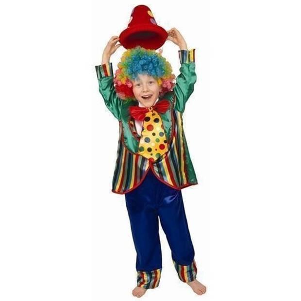 Clown verkleedkleding voor kinderen 116 - Carnavalskostuums