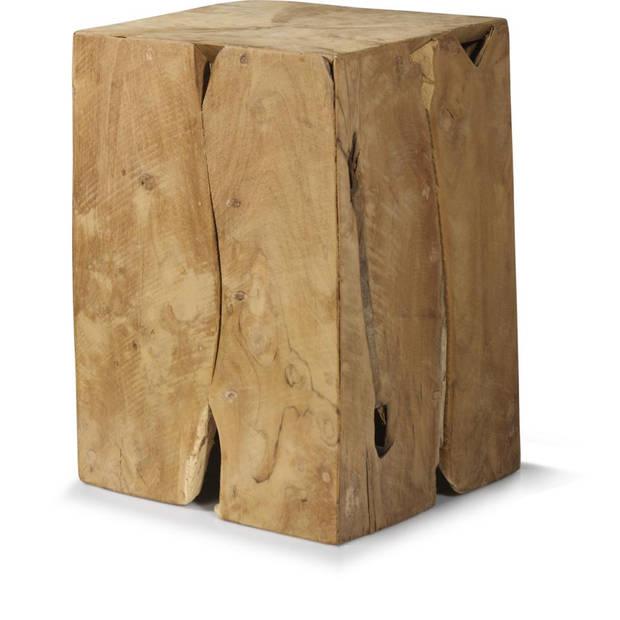 Blok bijzettafel - 25x25x30 cm