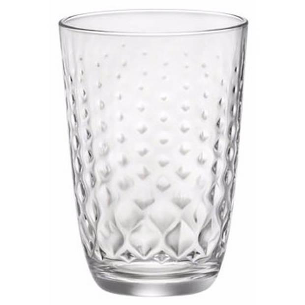 Glit waterglazen 390 ml 6 stuks