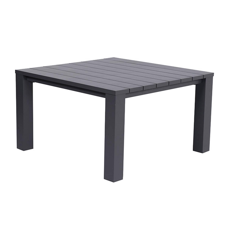 Garden Impressions Cube lounge dining tafel 120x120xH68 cm carbon
