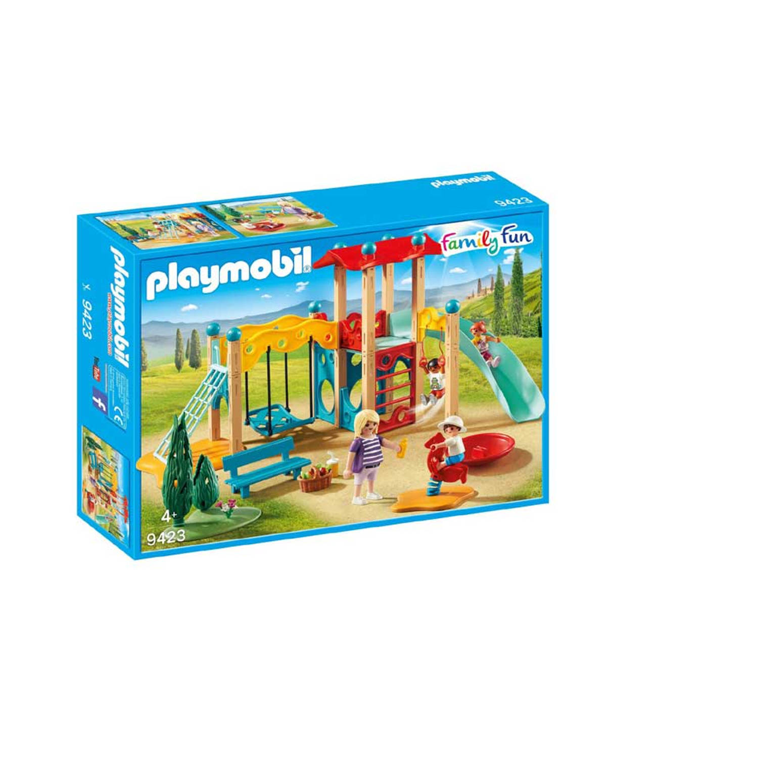 PLAYMOBIL Family Fun grote speeltuin 9423