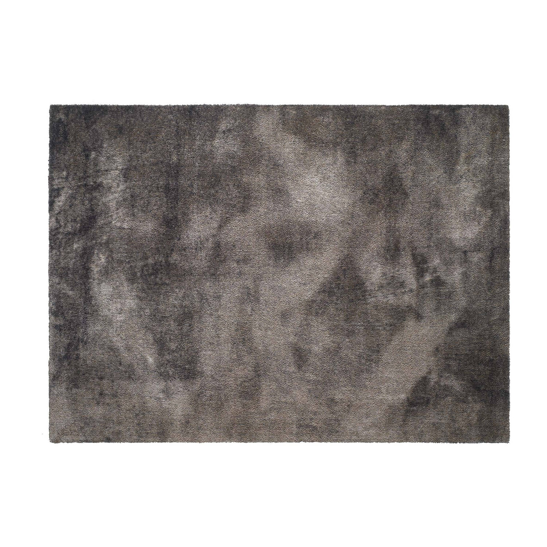Afbeelding van Schoonloopmat/karpet Soft&Deco concrete taupe 140 x 200 cm