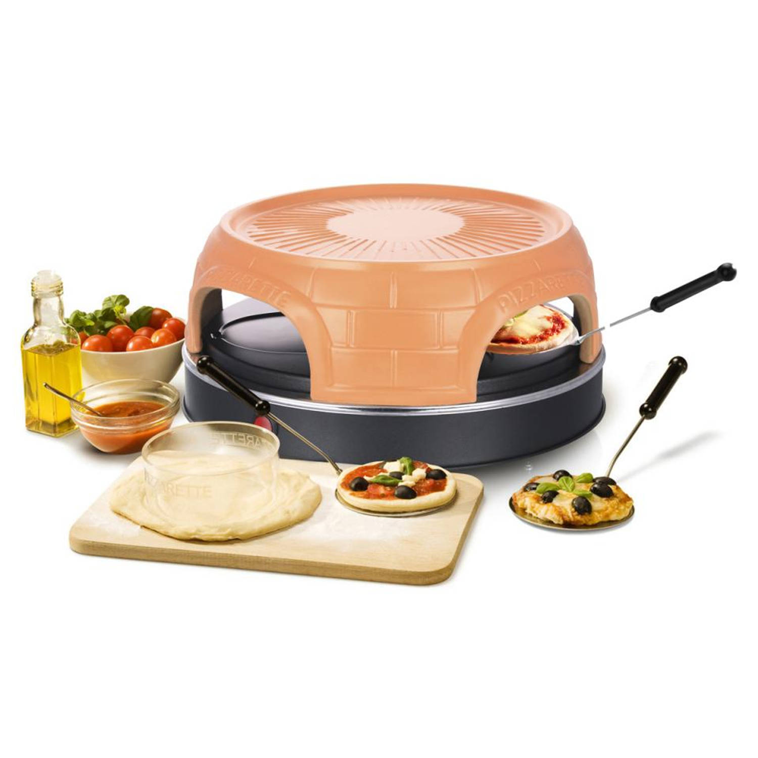Emerio Pizzarette Keep Warm PO-115849 - 4 personen