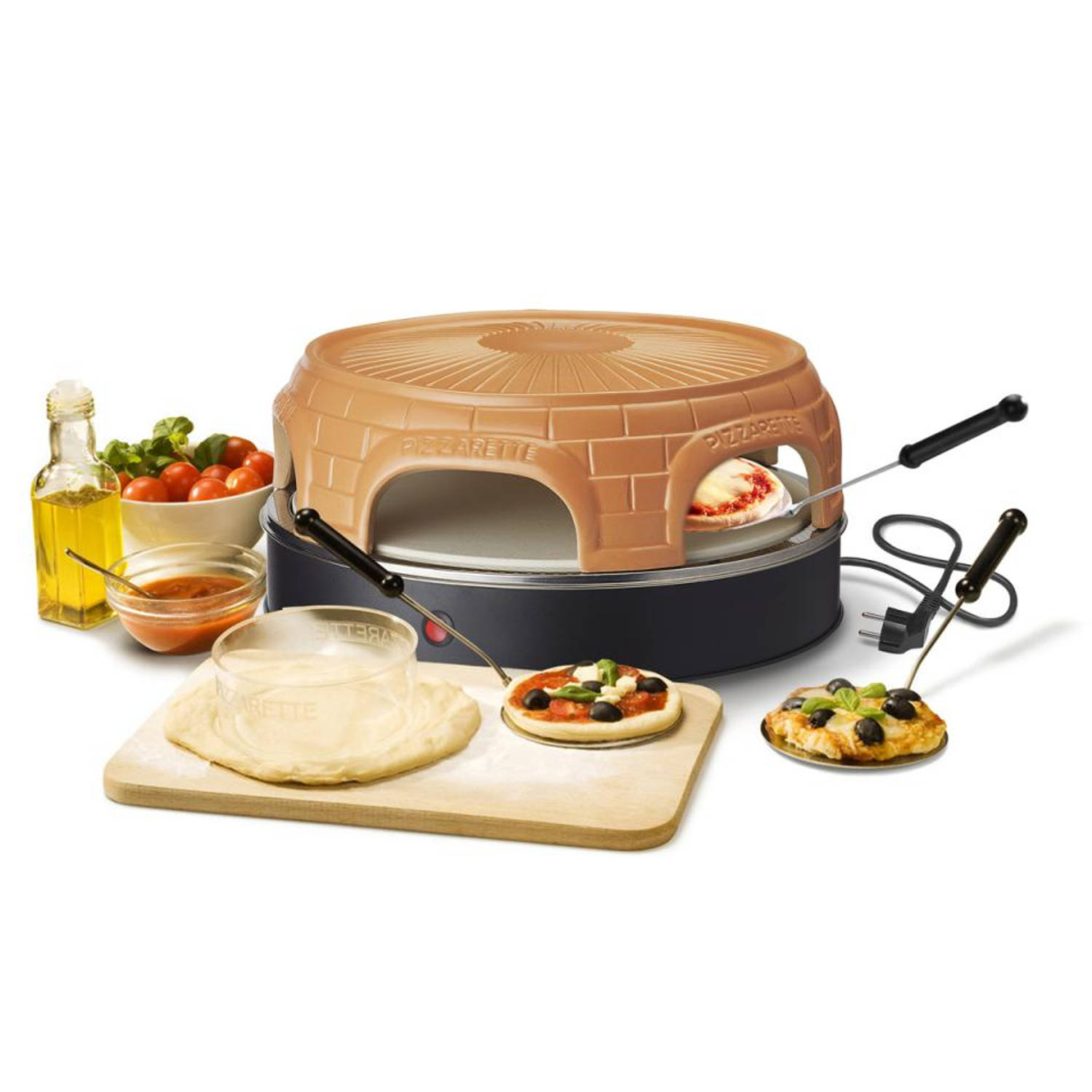 Emerio pizzarette Stone - PO-116100