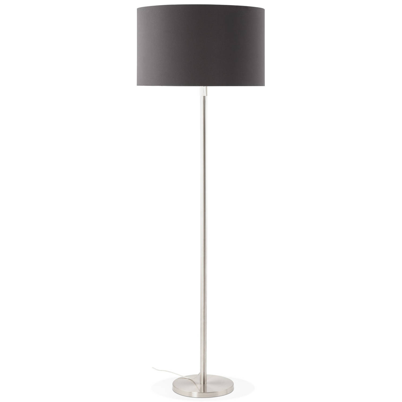 24Designs Vloerlamp Cooper - H155 - 190 Cm - Zwart