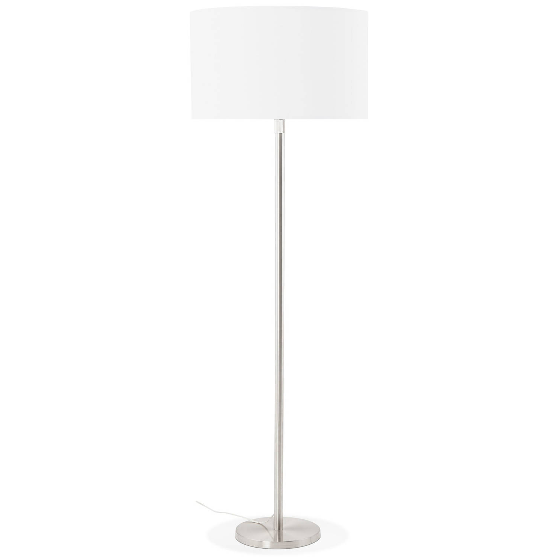 24Designs Vloerlamp Cooper - H155 -190 Cm - Wit