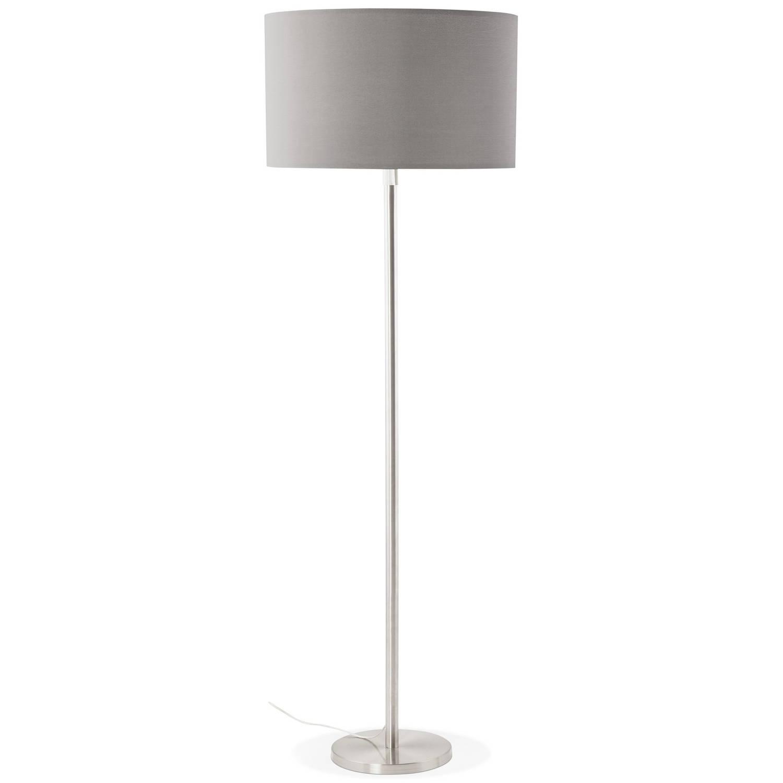 24Designs Vloerlamp Cooper - H155 - 190 Cm - Grijs