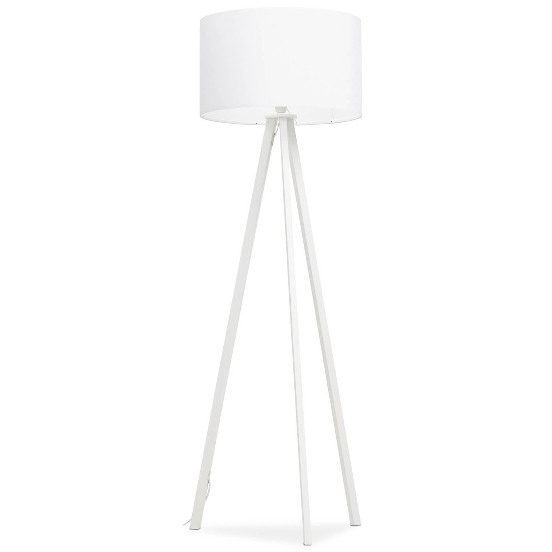24Designs Vloerlamp Leya - H159 - Metaal - Wit