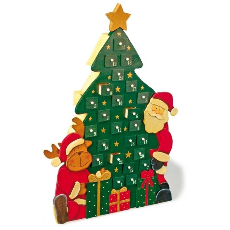 Small foot adventskalender kersttijd 7 x 29 x 42 cm