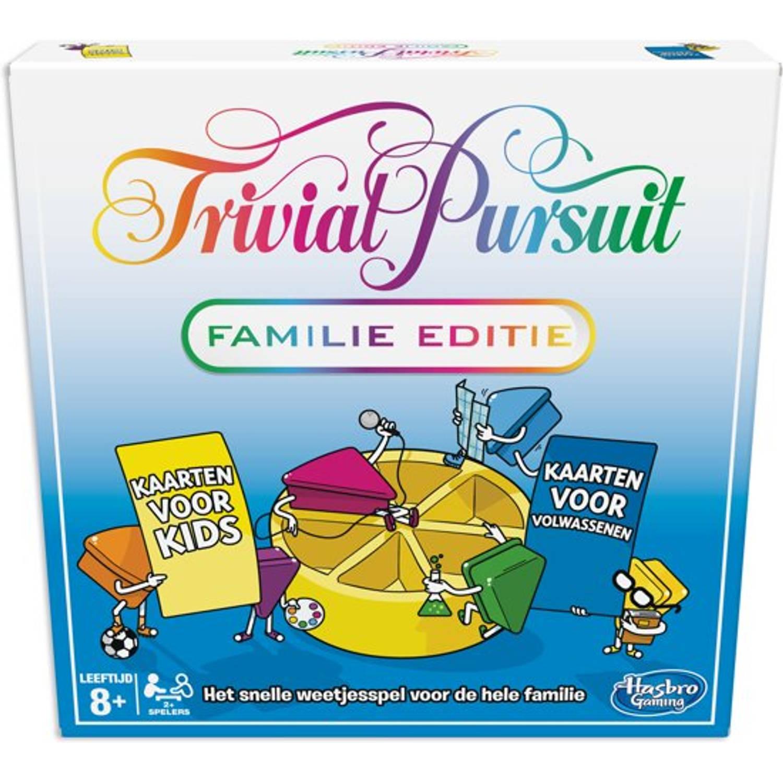 Hasbro gezelschapsspel Trivial Pursuit Familie editie