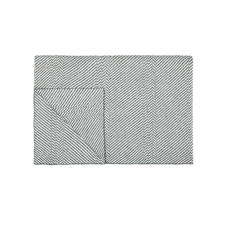 Marc O'Polo Marc O'Polo Rik plaid - 75% katoen - 25% polyester - 130x170 cm - Grey