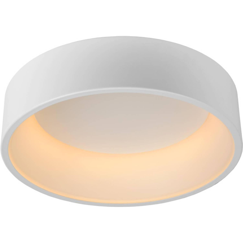 Lucide plafondlamp talowe-led 1-lichts dimbaar - wit