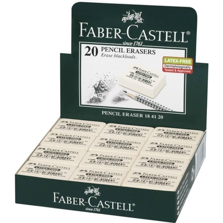 Korting Gum Faber Castell 7041 20 Natuurrubber