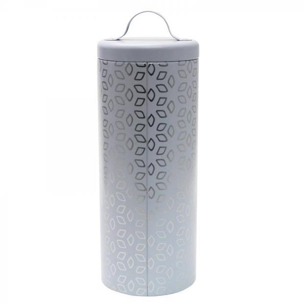 SENSEO® coffeepad bewaarblik - met lifter - wit/zilver