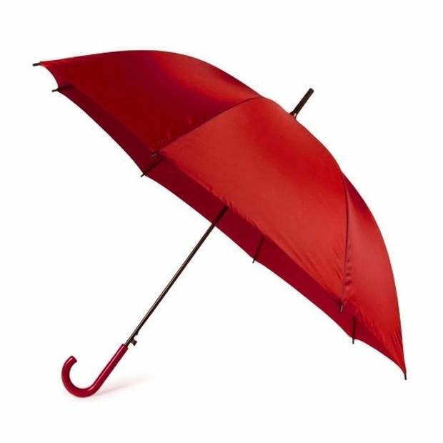 Rode automatische paraplu 107 cm