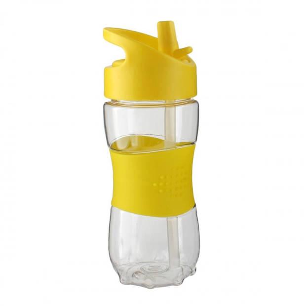 Blokker drinkfles tritan kids - geel - 350 ml