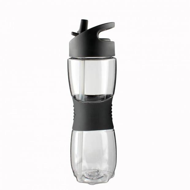 Blokker drinkfles tritan - grijs - 550 ml