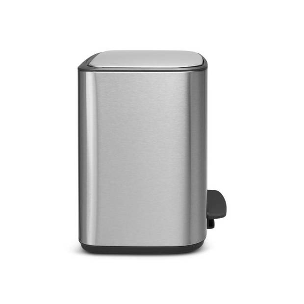 Brabantia Bo pedaalemmer 11 + 23 liter met 2 kunststof binnenemmers - Matt Steel Fingerprint Proof