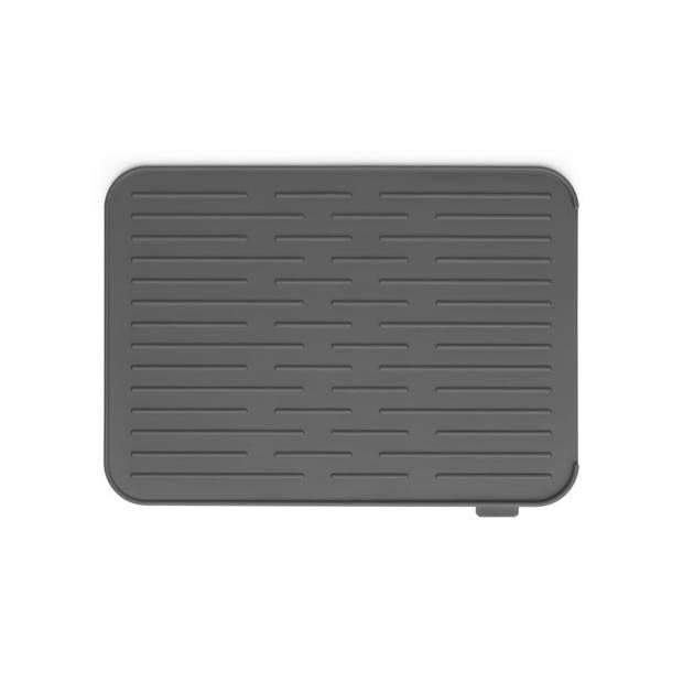 Brabantia Sink Side afdruipmat siliconen 44 x 32 cm - Dark Grey