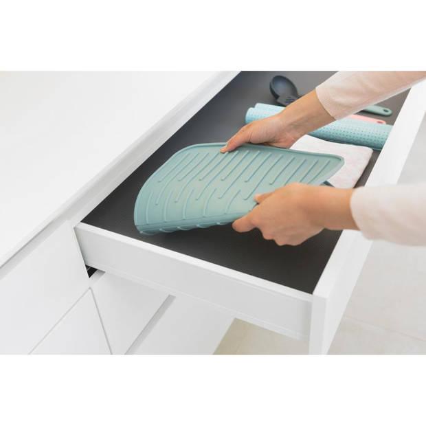Brabantia Sink Side afdruipmat siliconen 44 x 32 cm - Mint