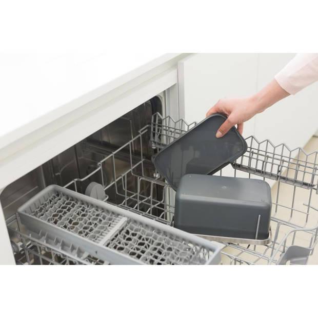 Brabantia Sink Side aanrecht afvalbakje 1,8 liter - Dark Grey