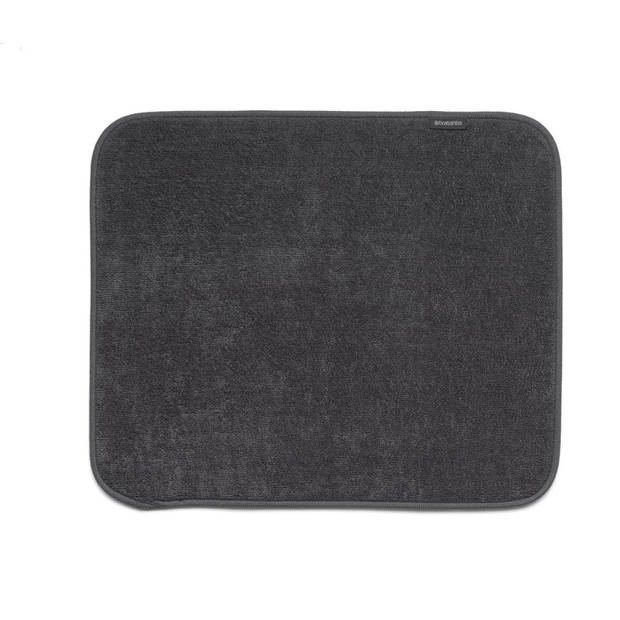 Brabantia Sink Side afdruipmat microvezel 47 x 40 cm - Dark Grey