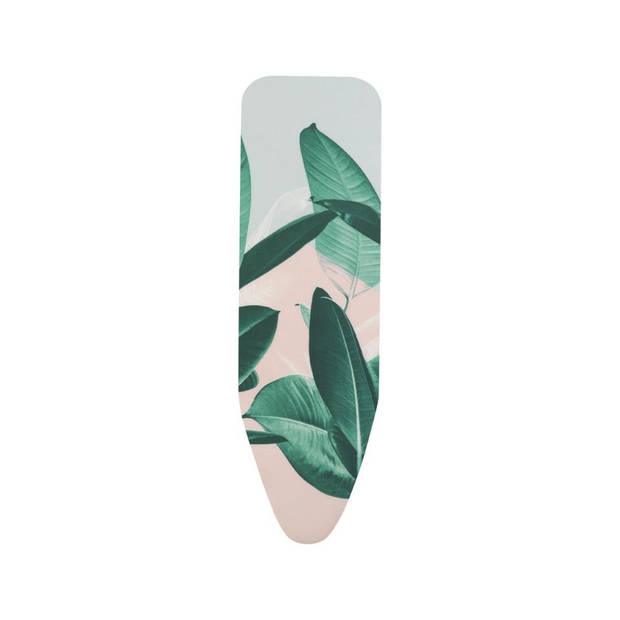 Brabantia Strijkplankhoes B, 124x38 cm, complete set - Tropical Leaves