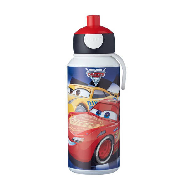 Mepal Campus Disney Cars pop-up drinkfles - 400 ml