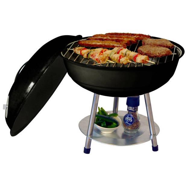 Garden Grill Kogelgril Tafelmodel houtskool barbecue - 35 cm