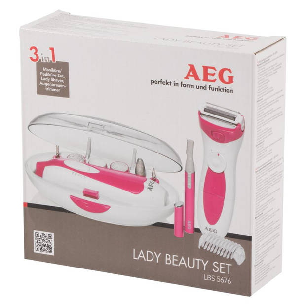 AEG Beautyset wit LBS 5676