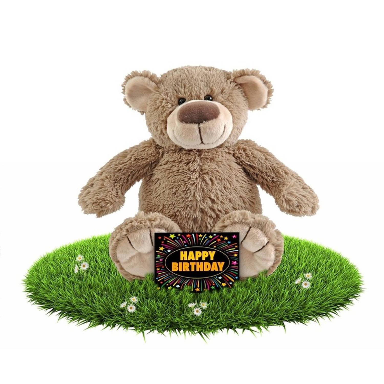 Korting Verjaardag Knuffel Beer Bella 100 Cm plus Gratis Verjaardagskaart Knuffelberen