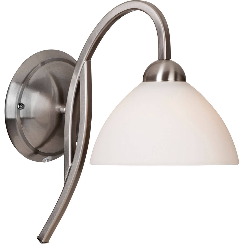 Fraai gevormde wandlamp Capri